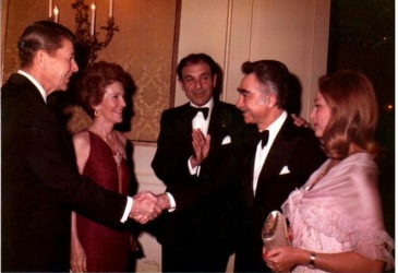Avideh_Abbas and the Reagans