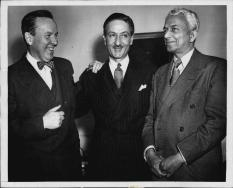 Nassi and Canadian Prime Minister Lester B. Pearson.